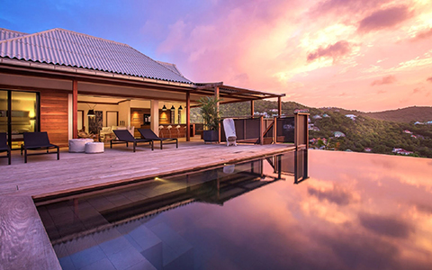 Saint Barts Honeymoon Villas | where to honeymoon on Saint Barts